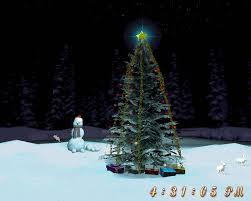 free christmas tree 3d screensaver download