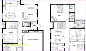 floor plans for two story homes best of two storey house designs and floor plans home design