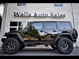 jeep wrangler white 4 door 2016 custom jeeps for sale near warrenton va lifted jeeps for sale in