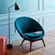 Teal Armchair For Sale Luna Chair West Elm