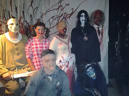 terror in west mobile the hughes u0027 haunted house on halloween