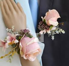 corsage and boutonniere cost wedding groom boutonniere bridesmaid wrist flower