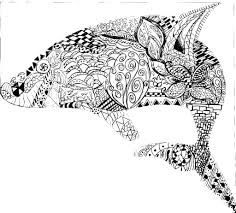 printable 24 geometric animal coloring pages 9770 coloring pages