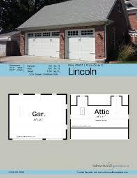 traditional garage plan lincoln