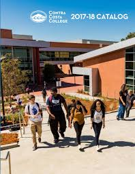 contra costa college 2017 18 academic catalog by contra costa