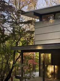cheap elegant modern wooden exterior design with glasses wall and