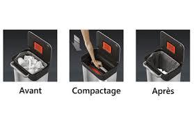 compacteur cuisine joseph joseph titan compacteur de déchets poubelle de cuisine