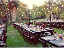 home wedding decoration ideas image of outdoor wedding