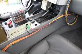 future cars inside screenused original u0027back to the future u0027 delorean movie prop car