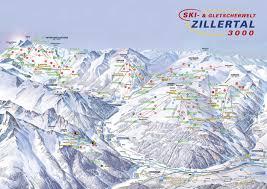 Ski Resorts Colorado Map by Ski Map Zillertal Austria