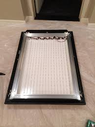 lighted movie poster frame another diy poster marquee light box page 14 avs forum home