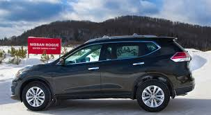 nissan canada nissan rogue takes to the track u2013 the ice track u2013 with ease