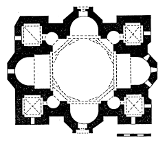 3 3 1 2 1 the greek cross type quadralectic architecture
