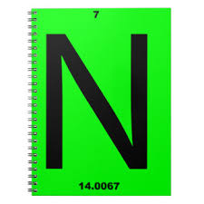 N Periodic Table Periodic Table Notebooks U0026 Journals Zazzle