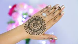 Step Design by Easy Henna Design Step By Step Tutorial Superprincessjo Youtube