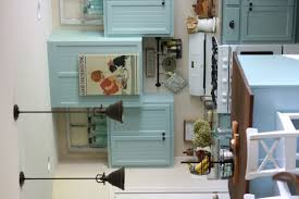 White Blue Kitchen My Blue Kitchen Cabinets U2039 A Cottage