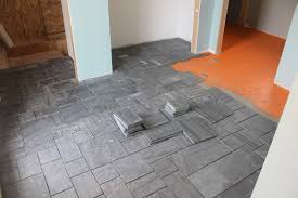 slate tile floor home design ideas and pictures