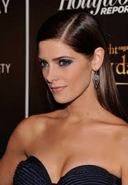 ashley greene with beautiful ombre ashley greene side parted long sleek hair style hairstyles weekly