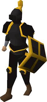 black gold trimmed armour old school runescape wiki fandom