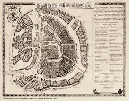 Moscow Map Map Of Moscow 1662 Joan Blaeu