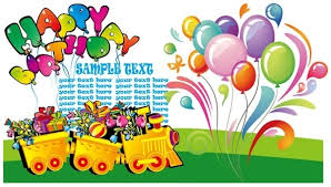 birthday car clipart free with