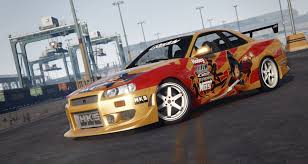 nissan skyline r34 modified c west n1 1999 nissan skyline gt r r34 gta5 mods com