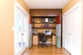 hidden home office furniture spare closet turned into hidden home office l a at home los