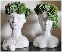 wonderful head planter pots twuzzer