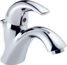 delta classic single handle kitchen faucet faucet 583lf wf in chrome by delta