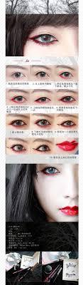 gothic ly y vire women eye makeup diy beauty tutorial zibees