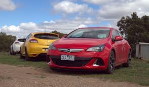 opel astra opc 2016 opel astra opc v renault megane rs265 comparison review photos
