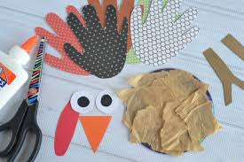 recycled cd turkey kids craft make and takes