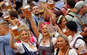 Celebration In Uk Oktoberfest 2016 Sees Flooding Britain As Revellers Raise