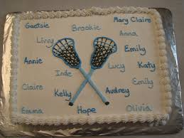 fieldsofheather photo keywords crossed lacrosse stick cake