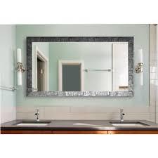 Vanity Mirrors Wayfair - Bathroom mirrors for double vanity