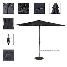 Tilting Patio Umbrella Sundale Outdoor 10 Outdoor Aluminum Patio Umbrella With Auto