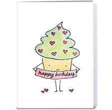 sassy birthday cupcake greeting card by lady lucas card gnome