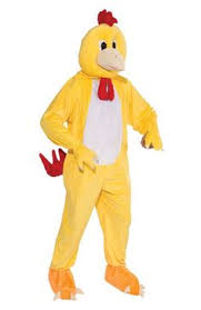 Halloween Chicken Costume Funny Chicken Suit Animal Costume Mascots Funny