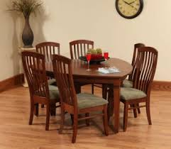 Amish Dining Room Set Amish Dining Room Furniture Sugar Plum Oak Amish Furniture In
