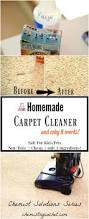 easy homemade carpet cleaner only 3 ingredients
