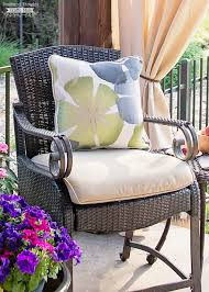 How To Clean Patio Furniture by How To Clean Outdoor Upholstered Furniture Scattered Thoughts Of