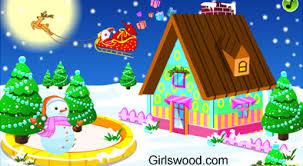christmas decorating games online rainforest islands ferry