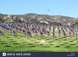 University Flags Pepperdine University Students Placed 3000 American Flags On Its