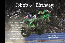 monster truck pictures grave digger gravedigger monster truck invitation eleni u0027s sweet creations