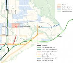 Toronto Subway Map Scarborough Subway New Report Outlines 3 35 Billion Project