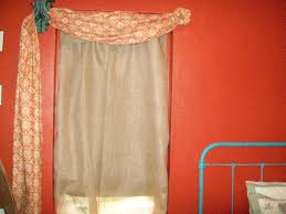 Contemporary Orange Curtains Designs Decorating Accessories Chic Grommet Top Curtains In Coral