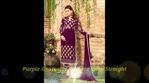 purple color salwar kameez by nikvik com youtube