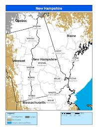 Map Of Vermont And New Hampshire Noaa Weather Radio New Hampshire