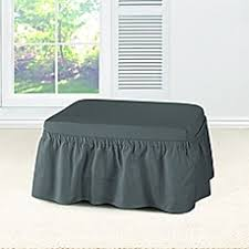 special size chair covers footstool u0026 throw covers bed bath
