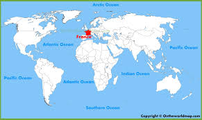 Map Of Paris France Where Is Paris Located On The World Map Ireland Inside France